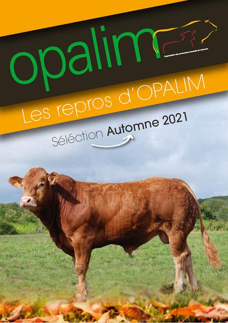 Les repros d'OPALIM : vente d'Automne 2021